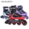 Purple white color new model design inline roller skates produce in China RTS