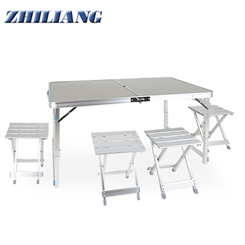 Camping Table Aluminum Outdoor Folding