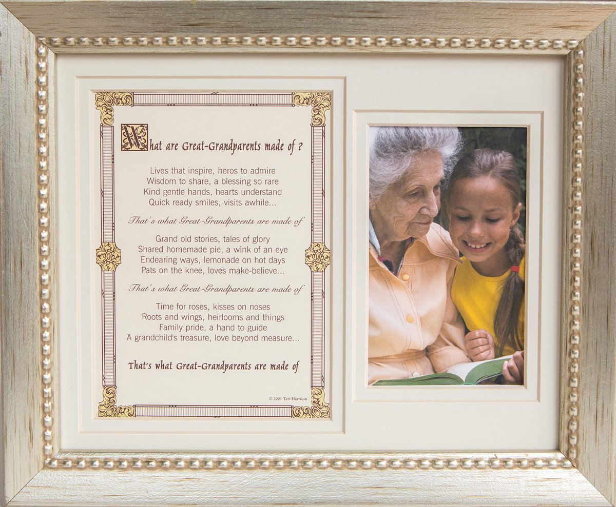 Buy Great Grandparent Gift from Grandchild - Great-Grandparents Poem ...
