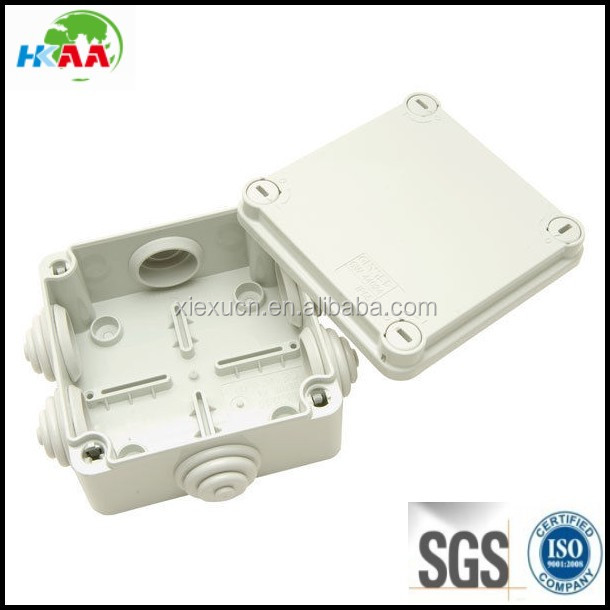 Junction Box Quick Fix Screwed Lid Grey Enclosure Plastic Case