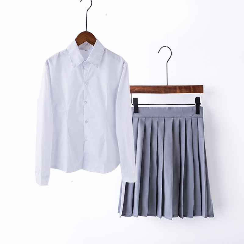 Chemise blanche fille