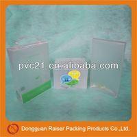 new style custom cheap umbrella plastic packaging pvc box