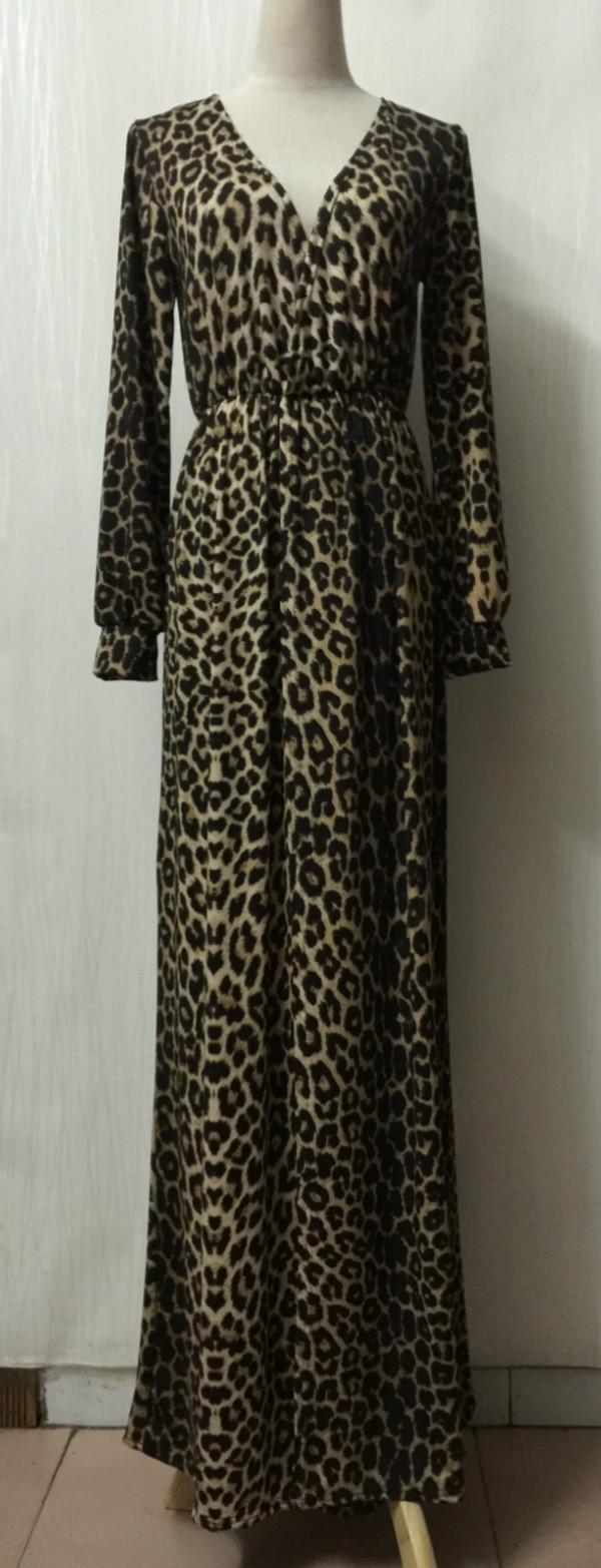 Hot sexy gedruckt maxi mode kleidung sleeveless 100% baumwolle leopard druck lange frauen party kleid