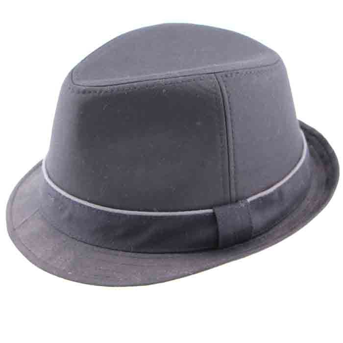 Get Quotations · 2015 Hot Sale Men Wool Black Felt Hat with Ribbon Pinched  Crown Design High Quality Summer 2c0524a7d41e