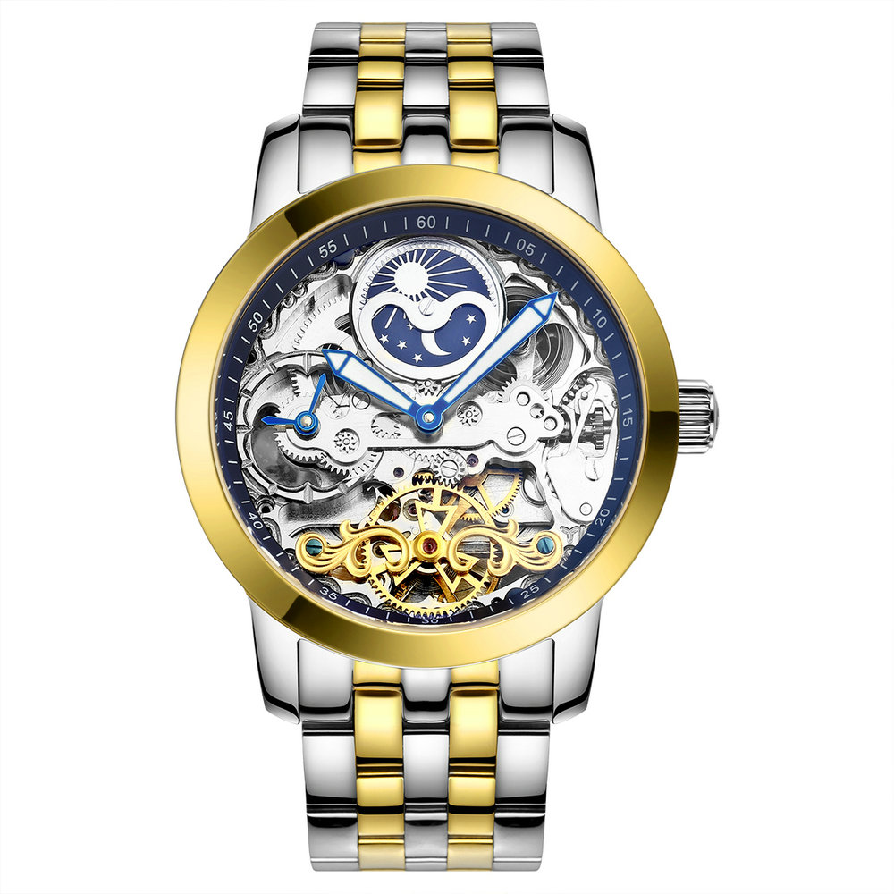 AILANG 6812 Luxury Flying Tourbillon Men Wristwatch Japan Movement Watches