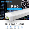 LED Vapor Tight Fixture Steel plant waterproof IP66 tri-proof led housing