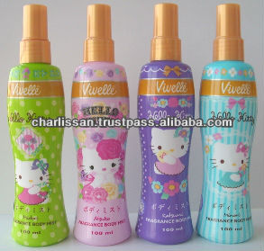 Hello Kitty Body Mist View Body Mist Vivelle Product Details From