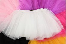 China gold manufacturer super quality girl black red yellow petal tutu skirt