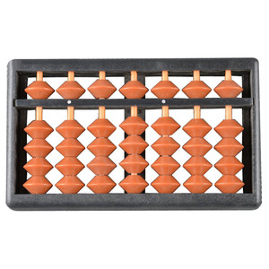 7rods student plastic stationery soroban education toy kit beads mini abacus