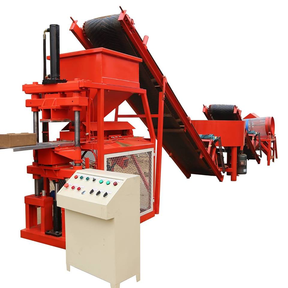 CGK red interlocking brick making with dryer soil clay cement block machine price 1-10 Manufacturer
