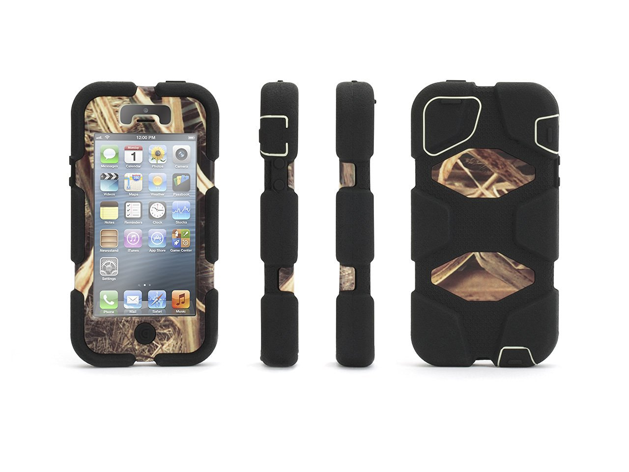 new product 2e512 18b9b Buy Griffin iPhone 5/5s, iPhone SE Rugged Case, Survivor All-Terrain ...