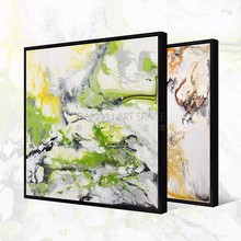 Abstract style framed art home decor wall paintings canvas painting textured