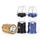 2019 hot sale stretch solar power led lantern rechargeable outdoor camping lights led solar lantern for camping