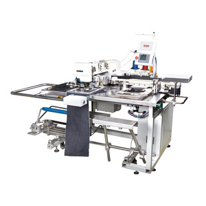 EM-9023, (3-needle automatic pocket setter) hot product used in Bangladesh market