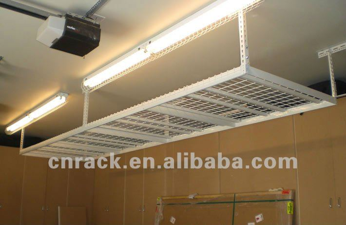 garage de rangement plafond rack cintres id de produit 669512975. Black Bedroom Furniture Sets. Home Design Ideas