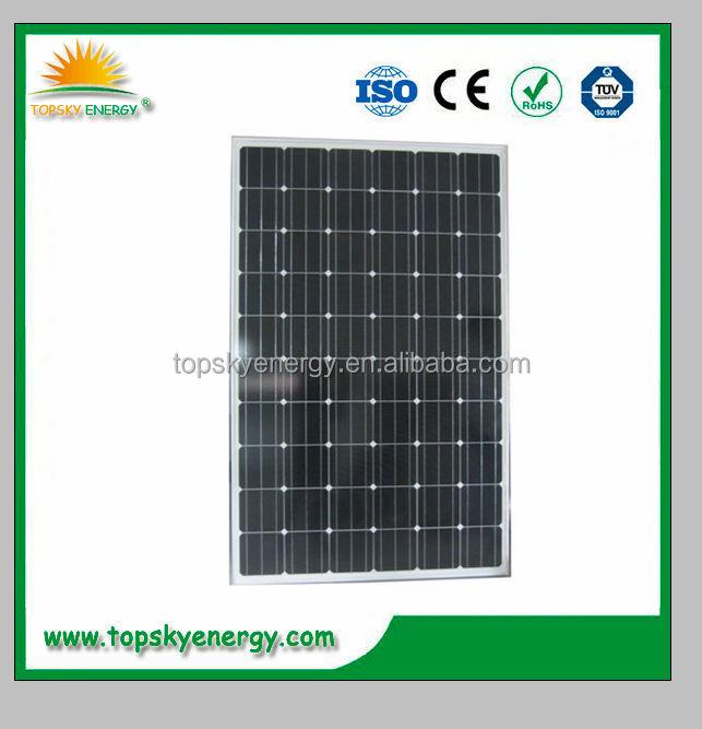 1kw 100kw Zonnepaneel Prijs India Zonnecellen Zonnepaneel