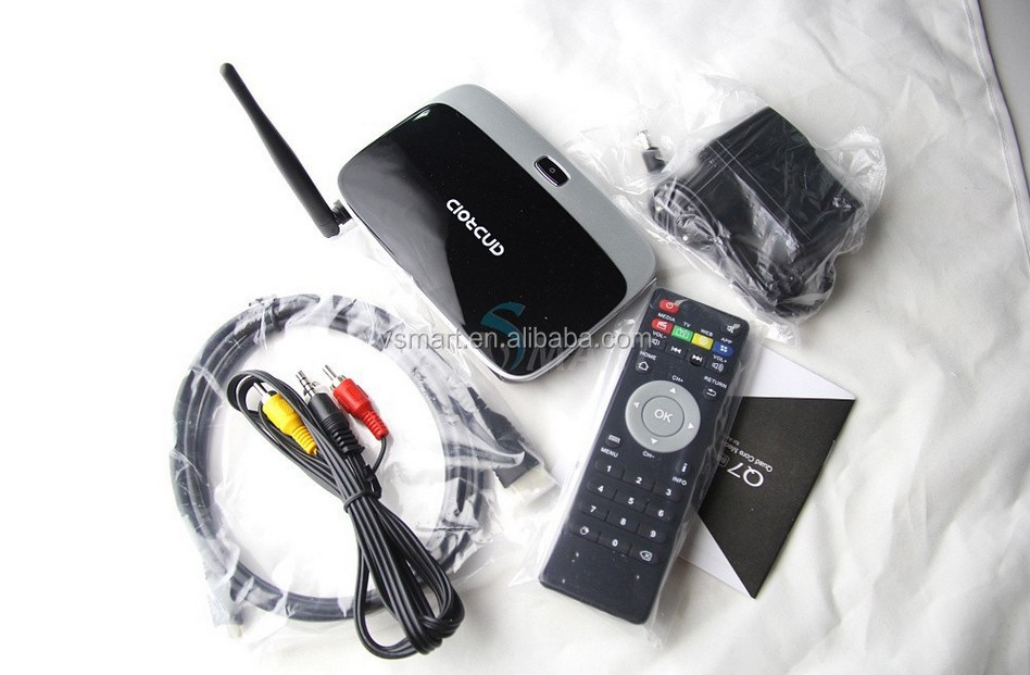 Visson tech cs918 2015 quad core 1080p android rockchip rk3188 smart tv box