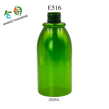 Superieur 260ML Beautiful Design Plastic Shower Gel Container Decorative Shampoo  Bottles
