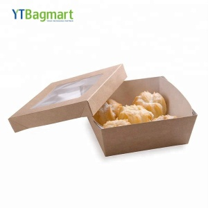YTBagmart Best Selling Paper Food Packaging Box Biodegradable Lunch Box Paper Box Lunch