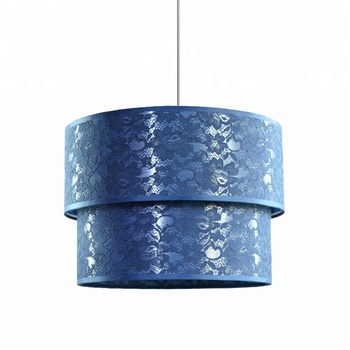 Italian Double Layers Collapsible Pendant Lamp Shade
