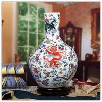 Wholesale Retail Chinese Ceramic Famille Rose Porcelain Vases