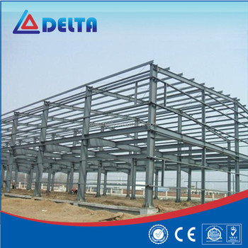 Low Cost 2 Story Warehouse Garage Prefab Steel Building Metal ...