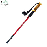 Extendable Aluminum Trekking & Hiking Pole - Telescoping Walking Stick for the Great Outdoors
