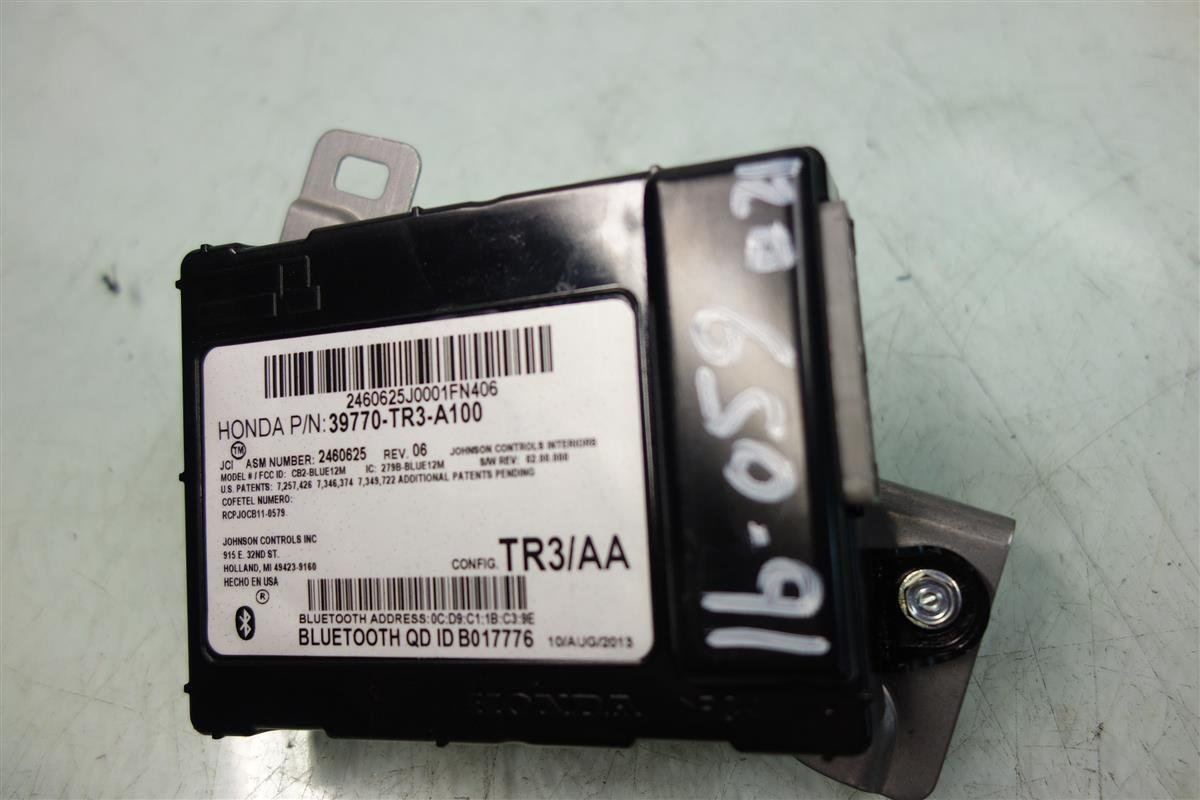 Honda Civic HFT Bluetooth Blue Tooth Control Module Unit Computer OEM