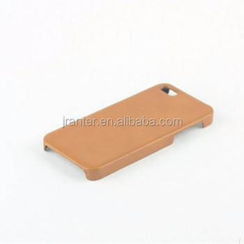 Cheap for iPhone 5s Back Cover OEM Leather Phone Case for iPhone Cover 5