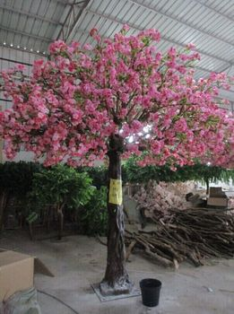 Pink Anese Artificial Cherry Blossom Tree
