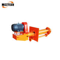 Anti Abrasive High Efficiency MIZZTECH MSP Centrifugal Vertical Slurry Pump for Slurry