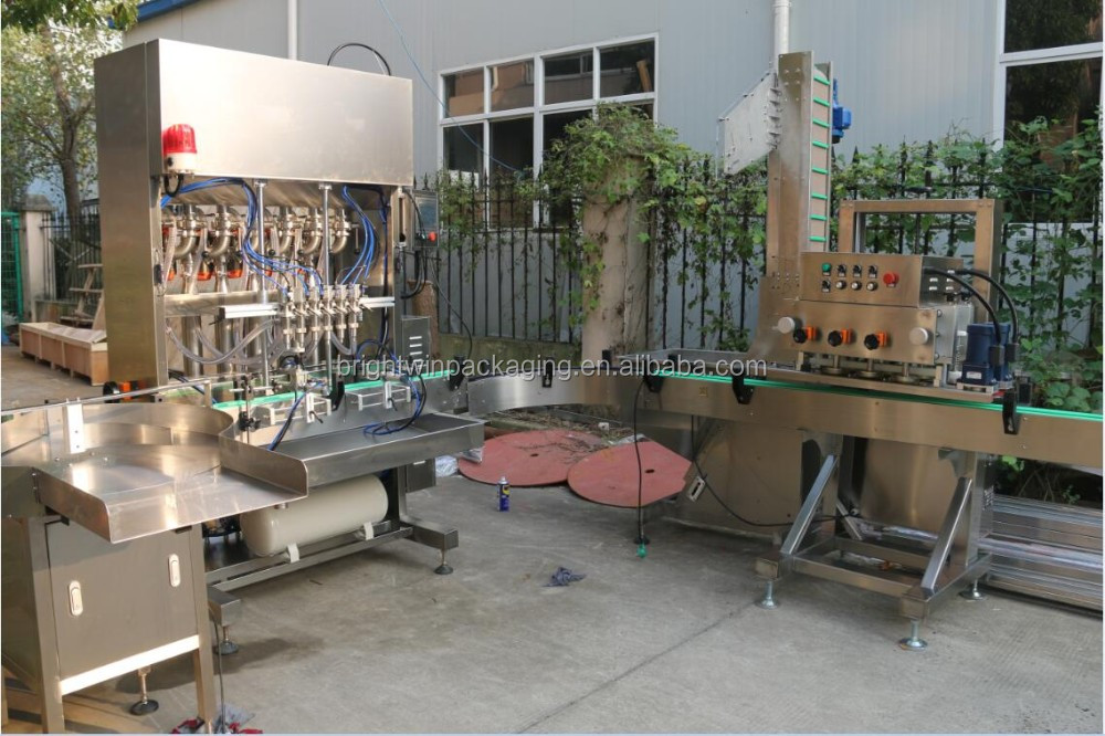 full automatic liquid deodorizer filling machine with video
