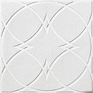 Wall Panel Cheap #147 White Matt PVC 2x2 Fire Rated Can Be Glue on Any Flat Surface,tile. Discount Decorative Plastic Ceiling Tile.