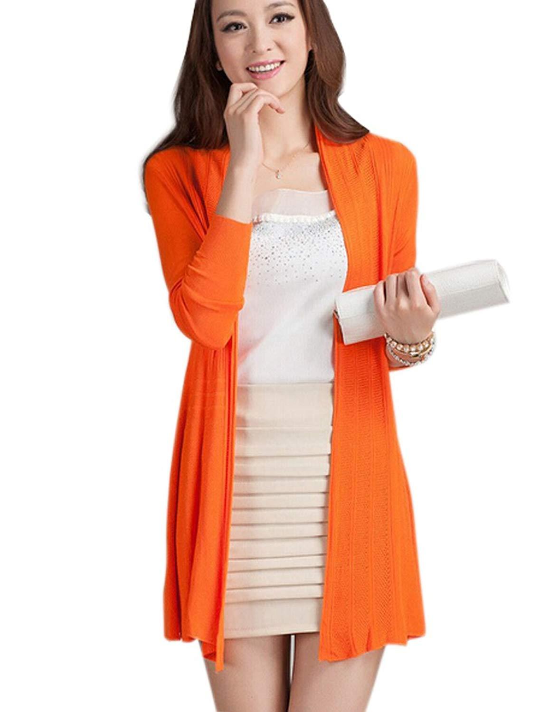 R REIFENG Women Thin Loose Knited Oversized Cardigan Sweater