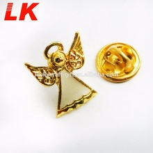 Zhongshan productie custom design angel goud metalen revers pin