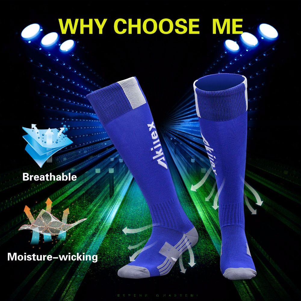 good quality wholesale knee high soccer socks