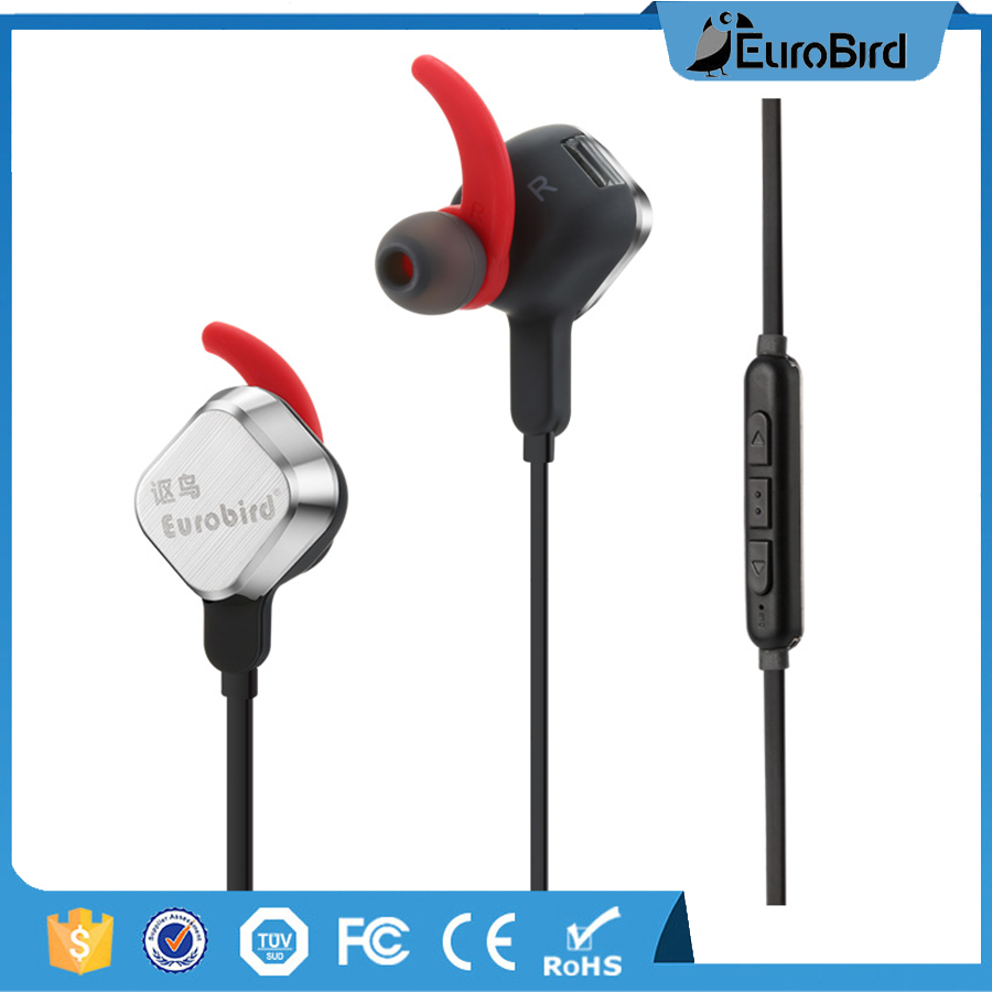 whole sale black/ white color mobile phone ear piece bluetooth earphone