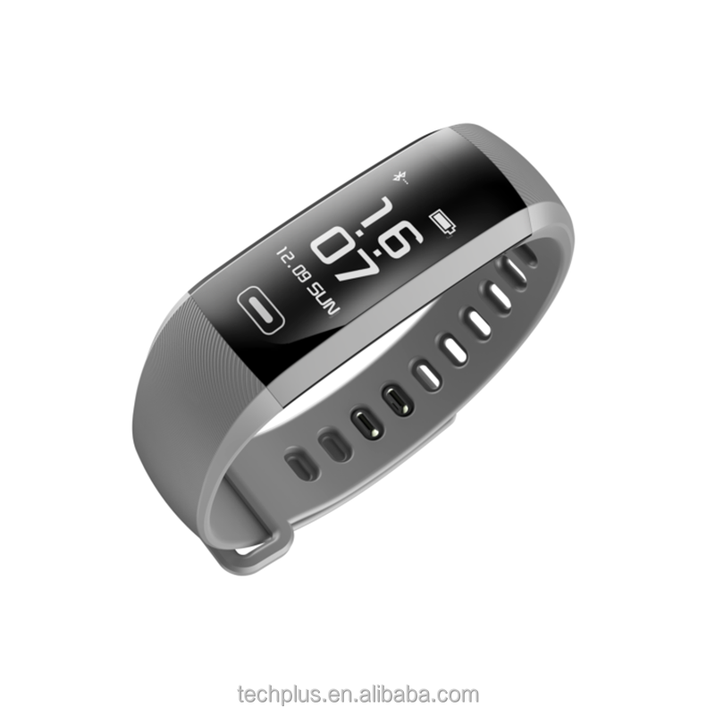 Big screen 0.96 OLED Bracelet BP HR SPO2 Smart WristBand Heart Rate Blood Pressure Fitness Watch M2 for iOS Android
