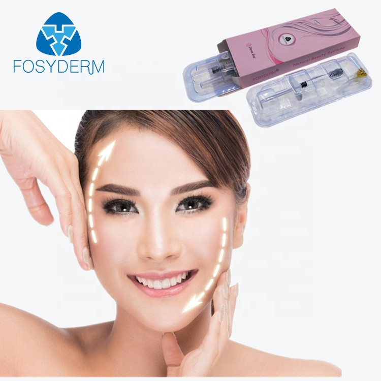 Alibaba.com / Fosyderm 2ml Face Care Injection Hyaluronic Acid Injectable Dermal Fillers