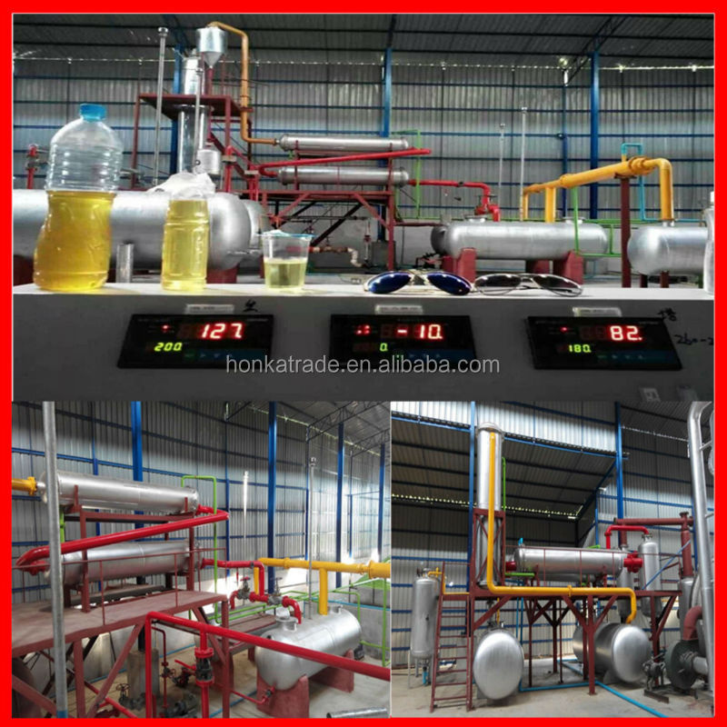 Strong steel made main reactor with standard diesel recycling for heavy fuel oil purifier