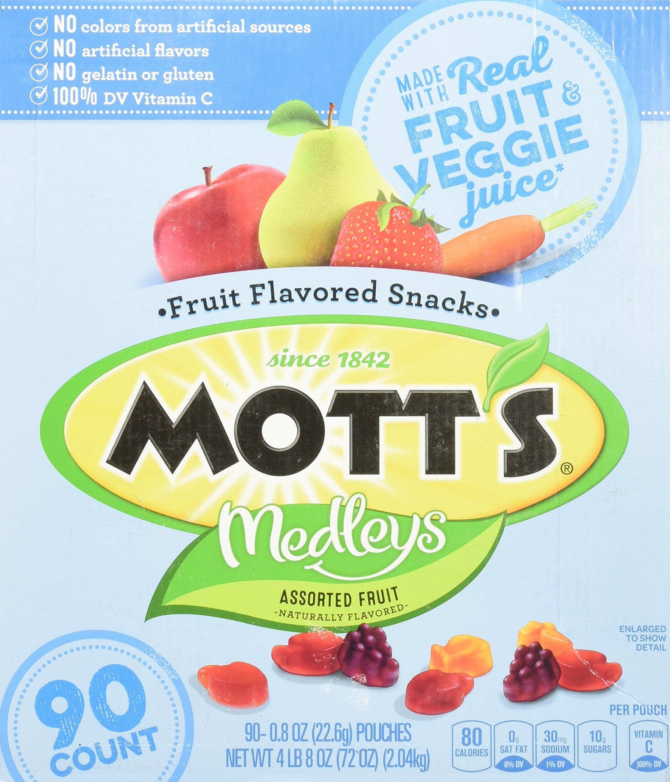 Mott's Medley Assorted Fruit Flavored Snacks (90 ct.)