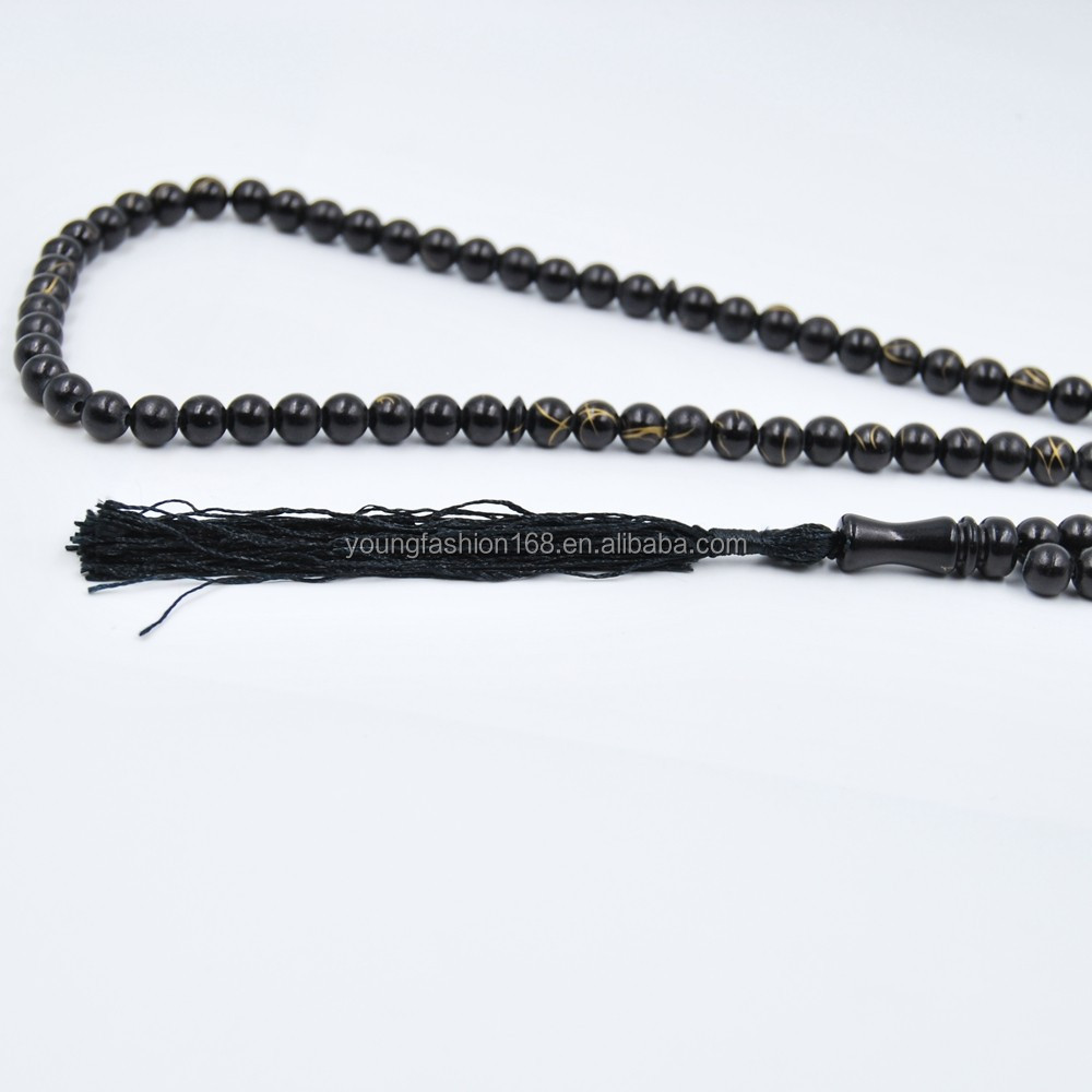 rosary glass material prayer beads islamic tesbih