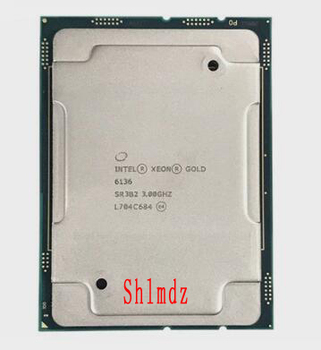 Intel to Strong Server CPU Gold 6136 12 Core 24 Threads 3.70 GHz LGA3647