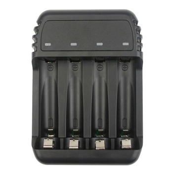 NTHPO N94 USB 4 slots Ni-MH Ni-CD rechargeable battery standard charger with LED