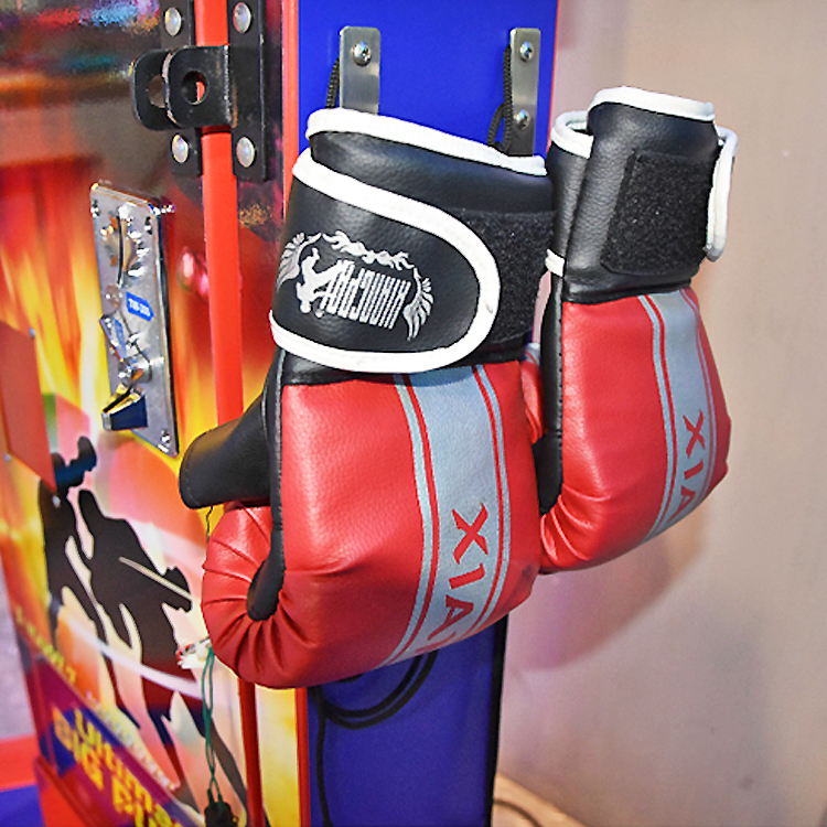 Prize Arcade Boxing Punch Games Coin Operated Punching Box Game Machine With Punching Bag