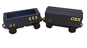 CSX Boxcar AND CSX Hopper - PAIR