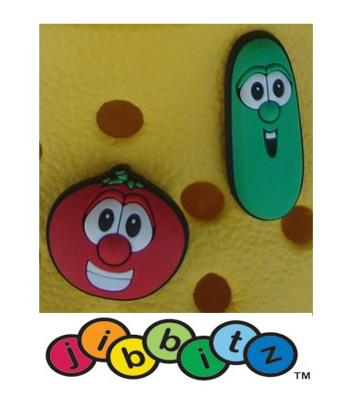 Jibbitz for Crocs: Veggie Tales Bob & Larry (Set of 2)