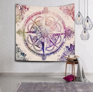 Home 3D India Mandala Designs Tapestry Wall Hanging