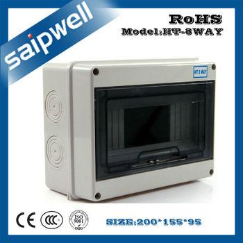 Saipwell 200*155*95mm Outdoor Kunststoff 8way Strom-verteilerkasten ...