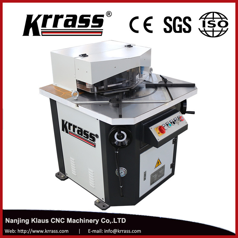 v notch cutting notcher notching machine